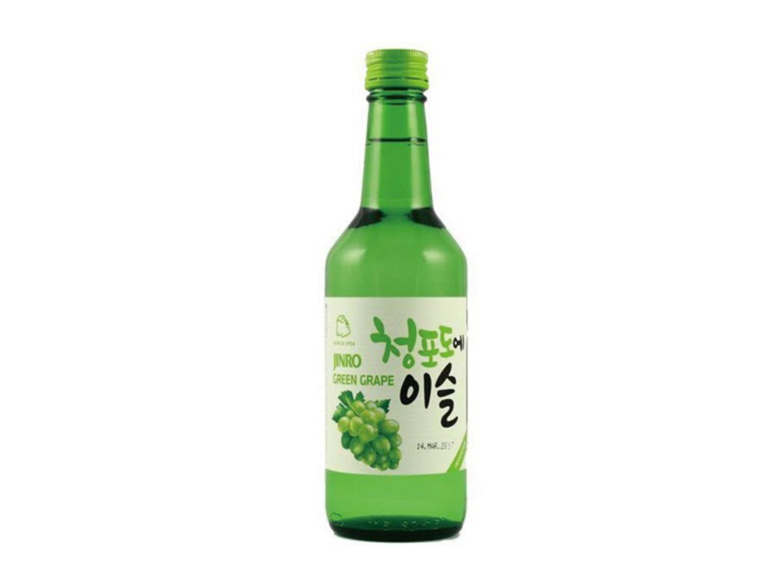 Jinro Chamisul Green Grape Soju (360mL)
