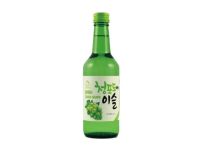 Jinro Chamisul Green Grape Soju (360mL)