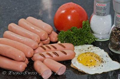 Euro-Swiss Cocktail Franks (1kg)