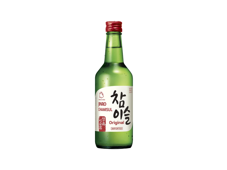 Jinro Chamisul Original Imported Soju (360mL)