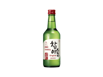 Jinro Chamisul Original Imported Soju (360mL)
