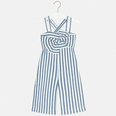 Mayoral Striped Jumpsuit