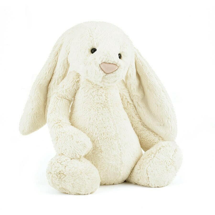 JellyCat Bashful Bunny Cream Huge
