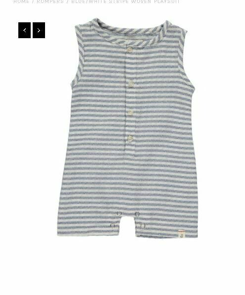 Me & Henry Playsuit HB404A