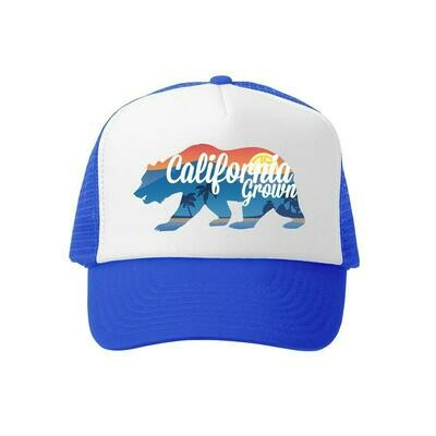 GROM SQUAD  HAT CALI GROWN ROYAL