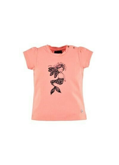 Babyface Girls Tee PEACH PINK 0108640
