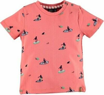 Babyface Boys Shirt PAPAYA 0107651