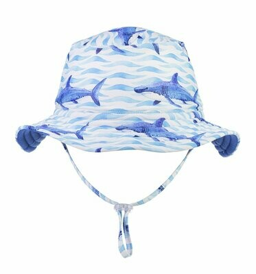 Snapper Rock School Of Sharks Hat