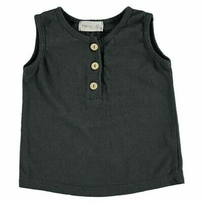 Beans Barcelona Anthracite Tank Tee S2064379