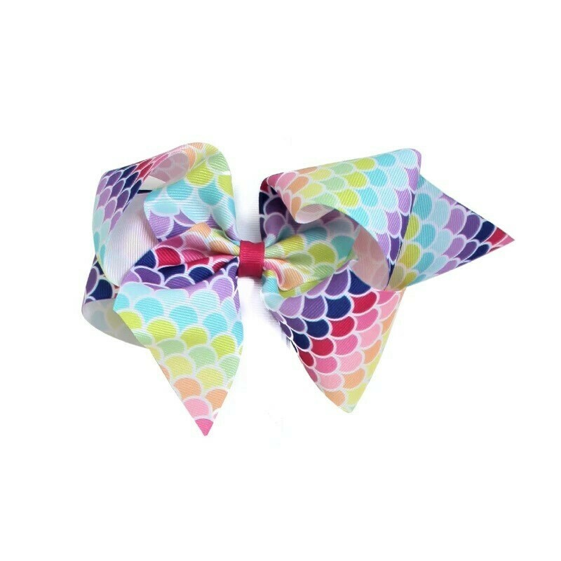 MERMAID PRINT BOW