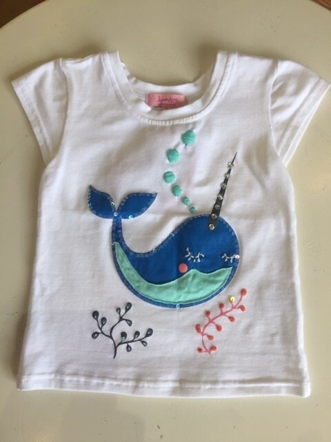 Haven Girl Narwhal Tee 80H703K