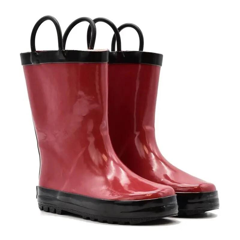 Red/Black Rain Boot Mucky Wear