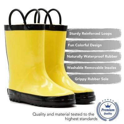 YELLOW/BLK BOOT Muckey Wear