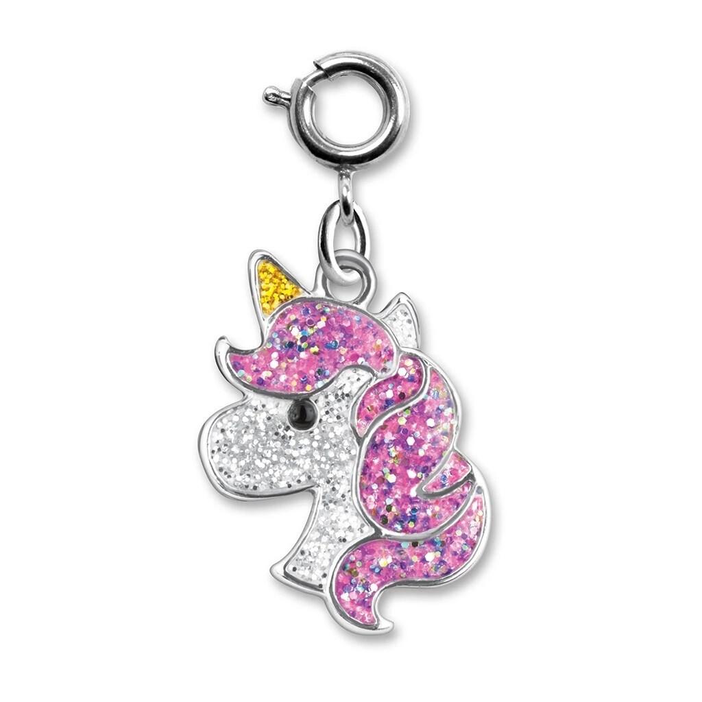 Charm It Glitter Unicorn Charm CICC1285