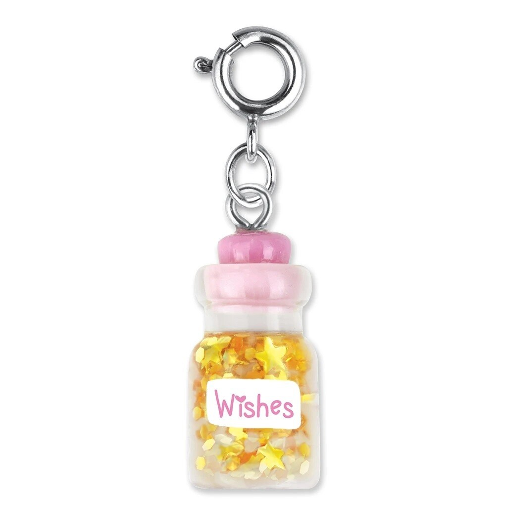 Charm It Wishes Bottle Charm CICC1239