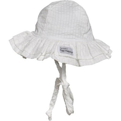 Flap Happy Double Ruffle Hat