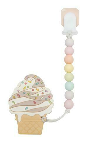 Loulou Lollipop Teether & Clip