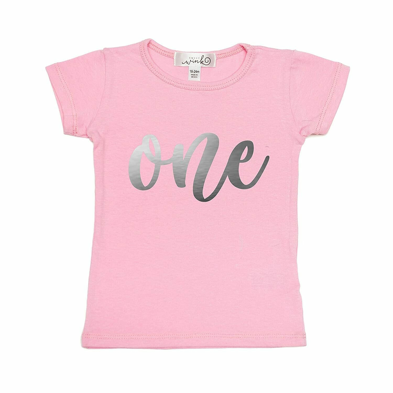 Sweet Wink One (Girl)  S/S Shirt