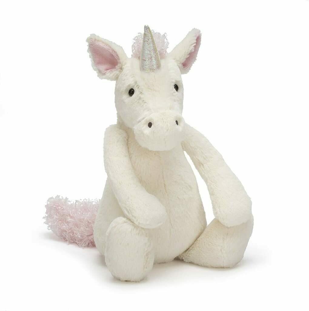 """JellyCat Bashful Unicorn Large 15"""""""