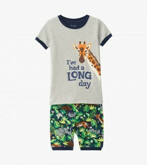 Hatley Jungle Safari Pj Short Set S20HJK
