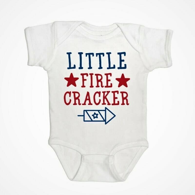 Sweet Wink Little Firecracker S/S Body
