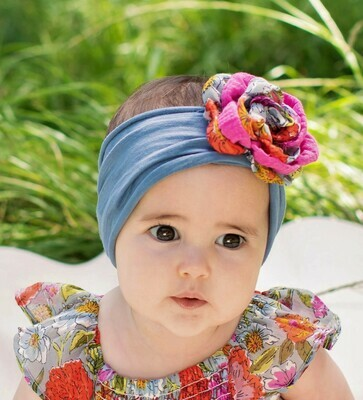 Mimi & Maggie Headband Peony Flower 9301