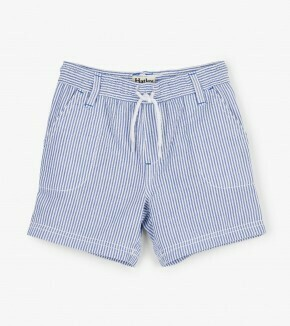 Hatley Blue Stripes Woven Shorts 1391