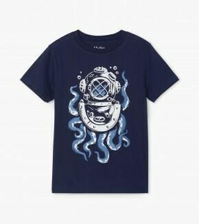 Hatley Octopus Diver Graphic Tee