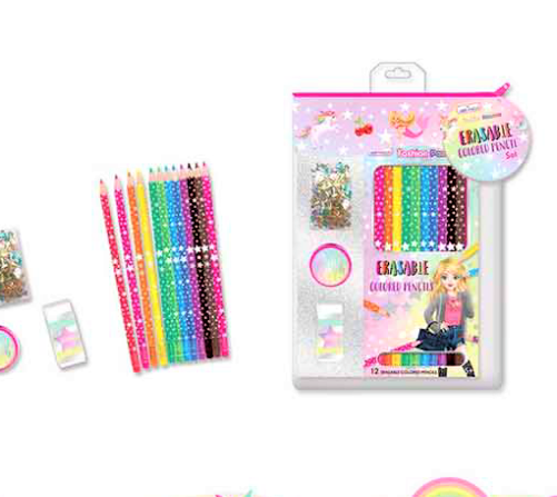 Hot Focus Fashion Passion Erasable Colored Pencil 340