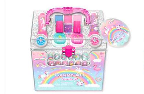 Hot Focus Carryall Cosmetic Set Rainbow 050NRB