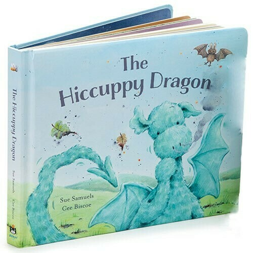 The Hiccupy Dragon Book (Jellycat
