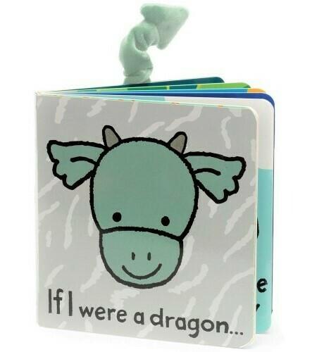 If I Were A Dragon Book  ( Jellycat