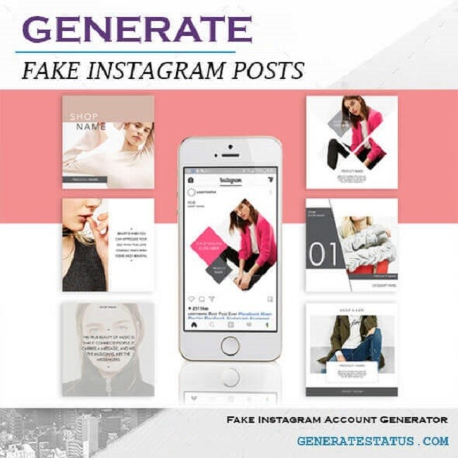 Fake Instagram Post Generator