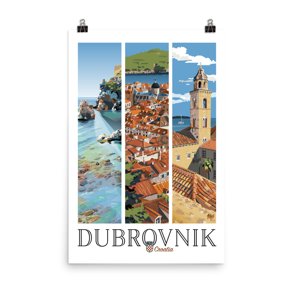 Dubrovnik Poster