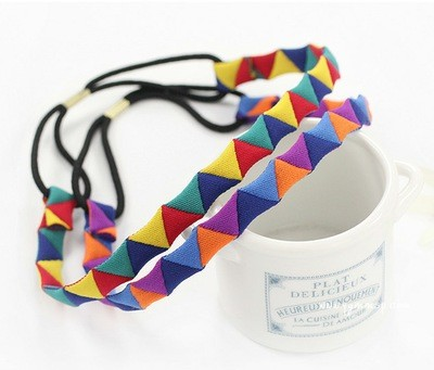 Colour magic elastic headband
