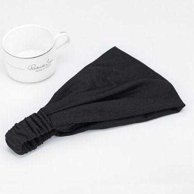 Double-layer cotton bandanna headband