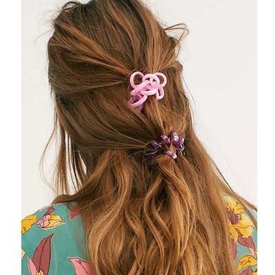 Coil hair ties (2pack)