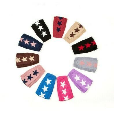 Patterned crochet headbands