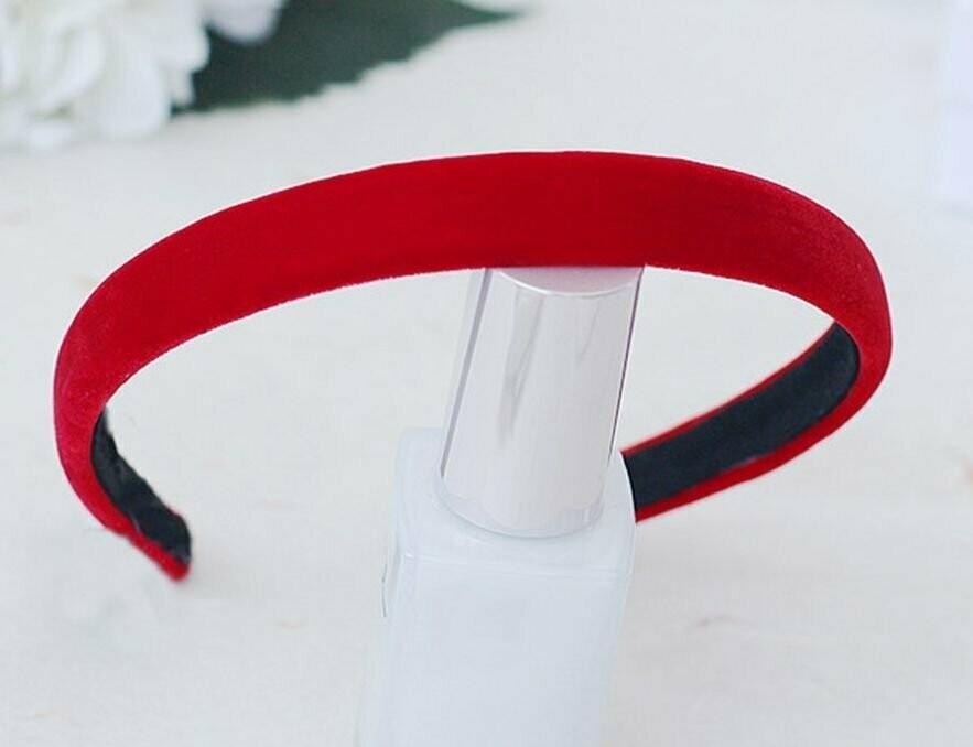 2cm velvet headband