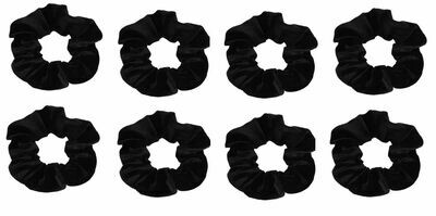 Smooth velvet scrunchies - 100 pieces