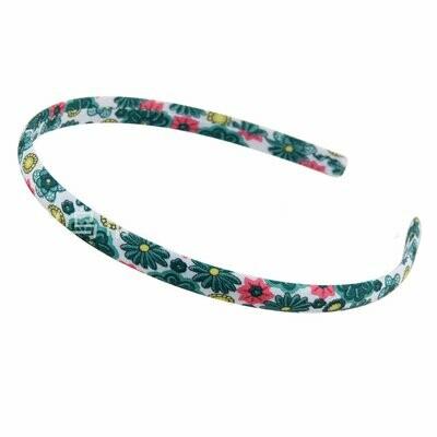 Totem floral slim headband