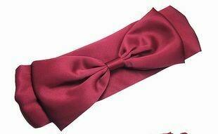 Satin bowknot headband
