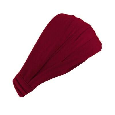 Extra-wide bandanna headband
