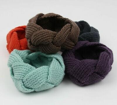 Assorts of crochet headbands