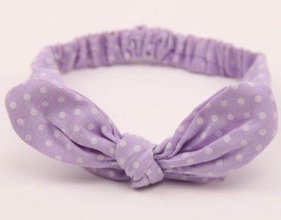Small dots bowknot headband