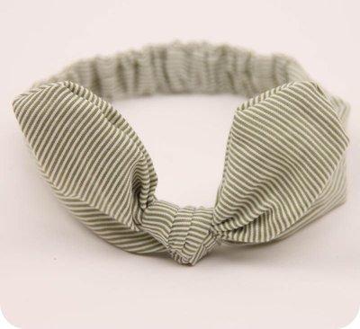 Little strips bowknot headband