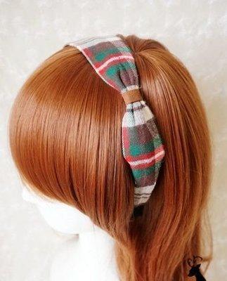 Checkers knot headband
