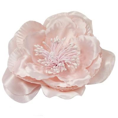 Pink satin flower