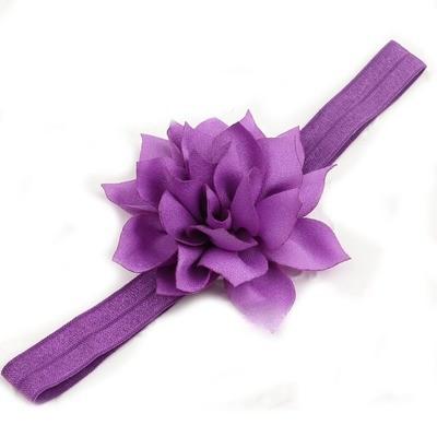 Lotus flower elastic headband
