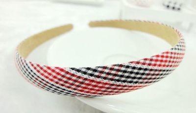 Pretty checkers headband